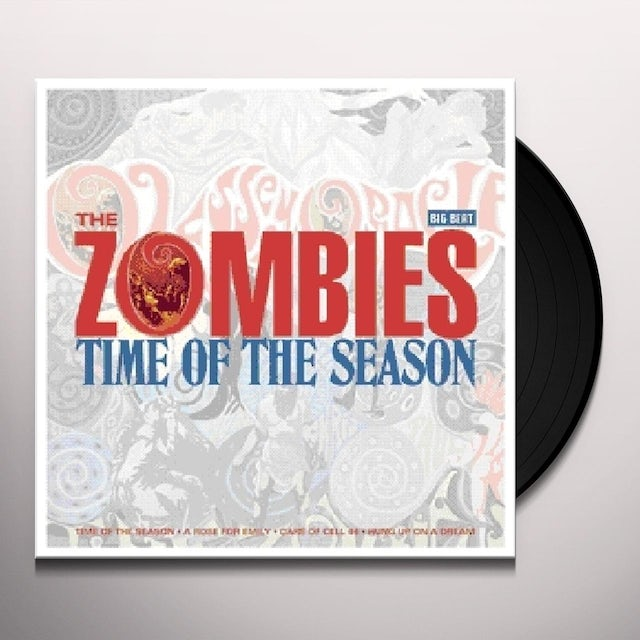 The Zombies TIME OF THE SEASON Vinyl Record