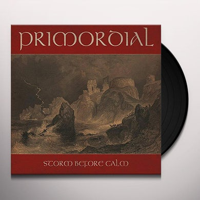 Primordial STORM BEFORE CALM Vinyl Record
