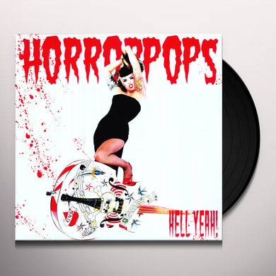 Horrorpops HELL YEAH Vinyl Record