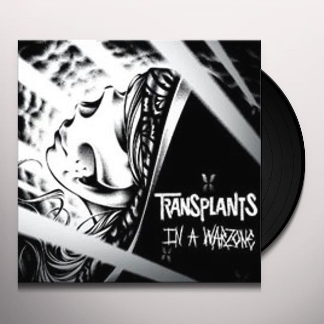 The Transplants IN A WARZONE Vinyl Record