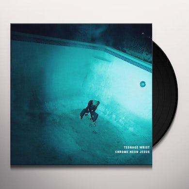 Chrome Neon Jesus Vinyl Record
