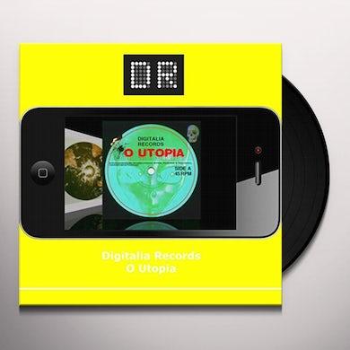 Digitalia Records O UTOPIA Vinyl Record
