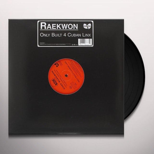 Raekwon ONLY BUILT 4 CUBAN LINX Vinyl Record