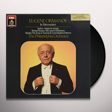 Eugene Ormandy IN MEMORIAM Vinyl Record