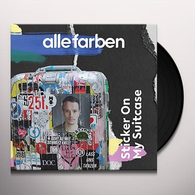 Alle Farben STICKER ON MY SUITCASE Vinyl Record