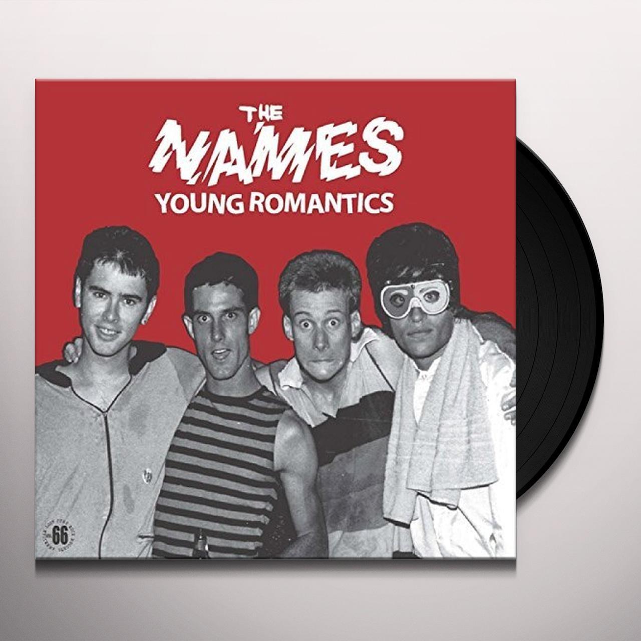Names YOUNG ROMANTICS Vinyl Record