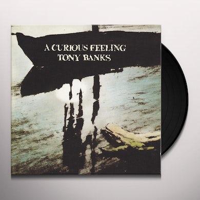 Tony Banks CURIOUS FEELING Vinyl Record