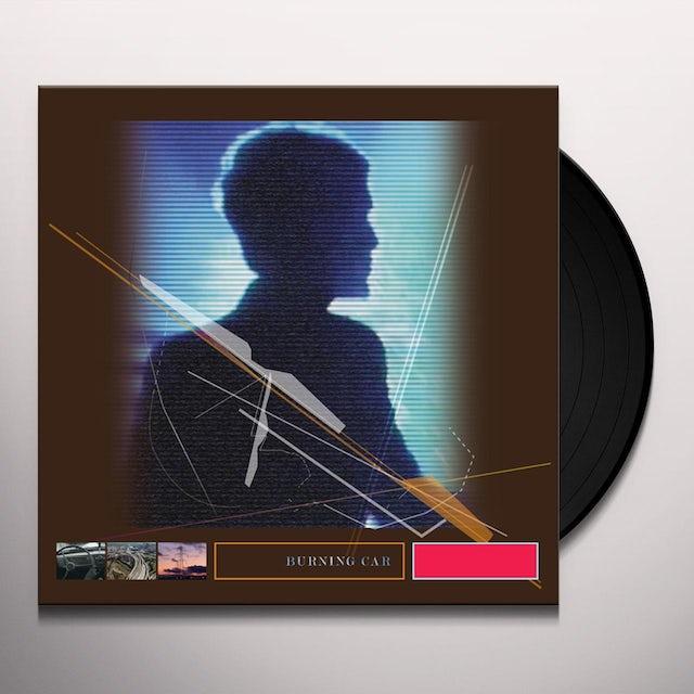 John Foxx BURNING CAR Vinyl Record