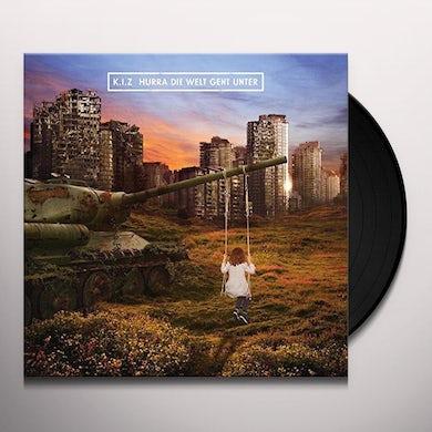 K.I.Z. HURRA DIE WELT GEHT UN Vinyl Record