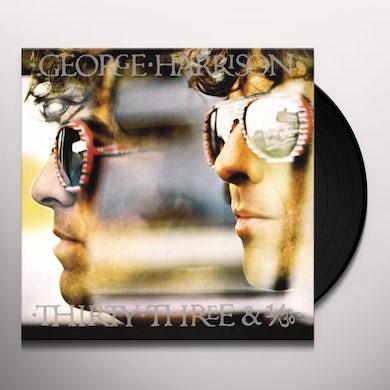 George Harrison THIRTY THREE & 1/3 Vinyl Record