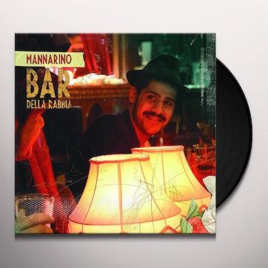 Mannarino BAR DELLA RABBIA Vinyl Record