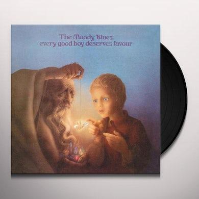 The Moody Blues EVERY GOOD BOY DESERVES FAVOUR Vinyl Record