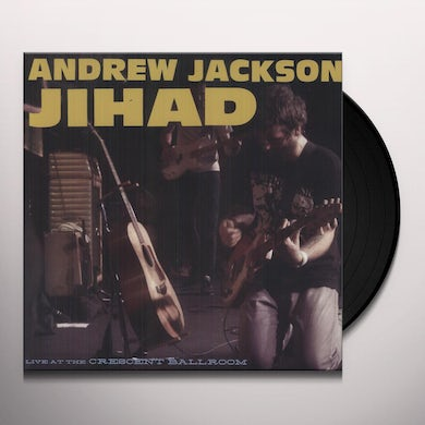 Andrew Jackson Jihad LIVE AT THE CRESCENT BALLROOM Vinyl Record
