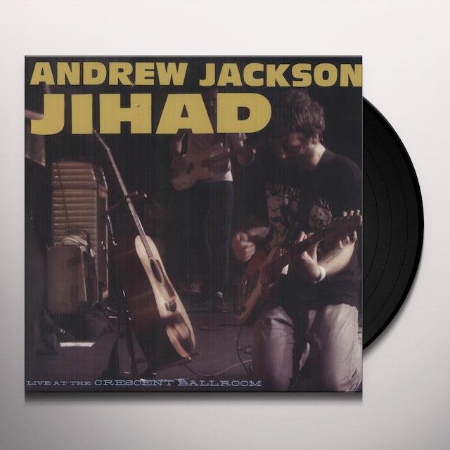 Andrew Jackson Jihad LIVE AT THE CRESCENT BALLROOM Vinyl Record