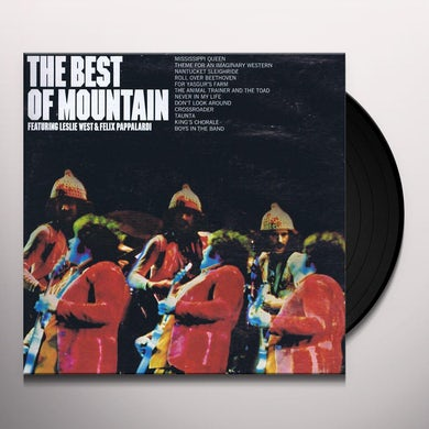 Mountain BEST OF Vinyl Record