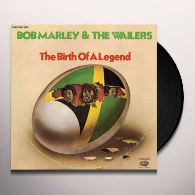 Bob Marley BIRTH OF A LEGEND Vinyl Record