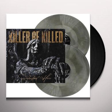 Killer Be Killed Reluctant Hero (Silver & Black Swirl) Vinyl Record