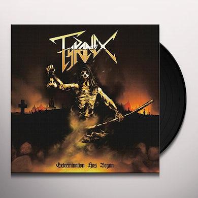 EXTERMINATION HAS BEGUN Vinyl Record