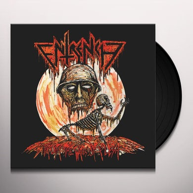 Entrench THROUGH THE WALLS OF FLESH Vinyl Record