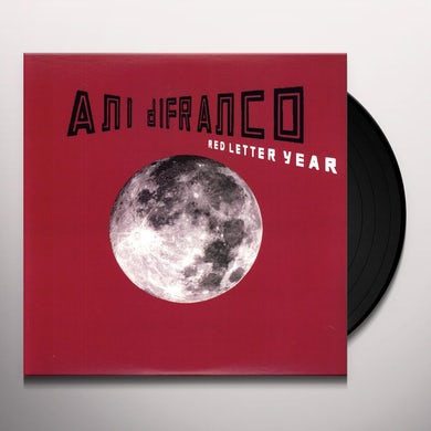 Ani Difranco RED LETTER YEAR Vinyl Record