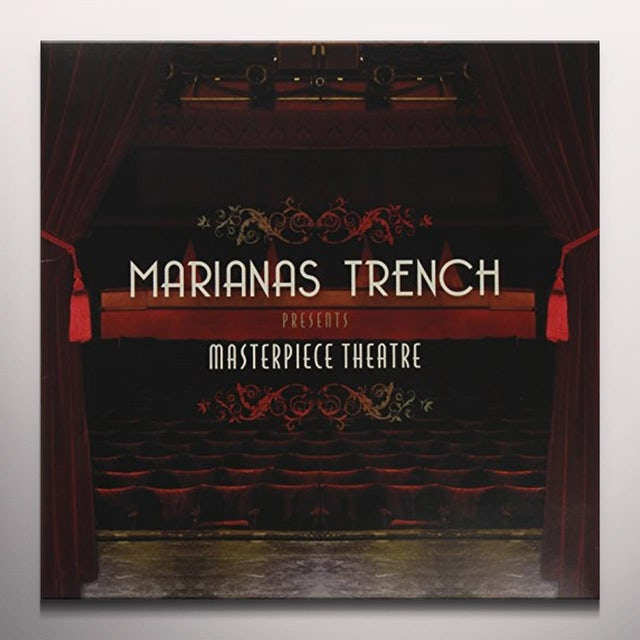 Marianas Trench MASTERPIECE THEATRE   (GLAS) Vinyl Record - Colored Vinyl, 180 Gram Pressing
