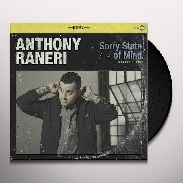 Anthony Raneri SORRY STATE OF MIND Vinyl Record