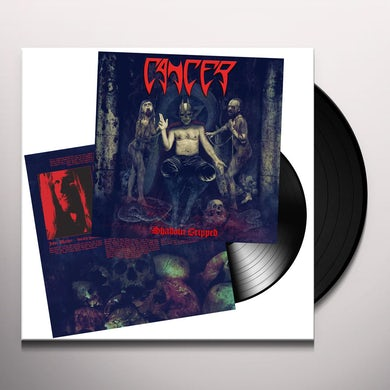 Cancer SHADOW GRIPPED Vinyl Record