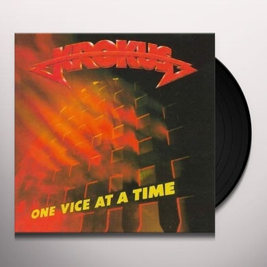 Krokus ONE VICE AT A TIME Vinyl Record