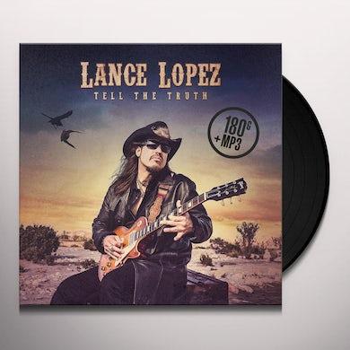 Lance Lopez TELL THE TRUTH Vinyl Record