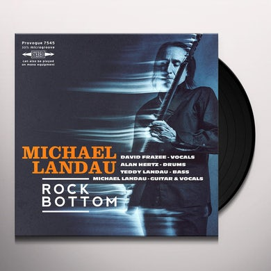 Michael Landau ROCK BOTTOM Vinyl Record