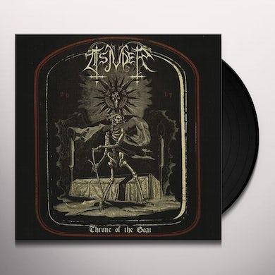Tsjuder THRONE OF THE GOAT Vinyl Record