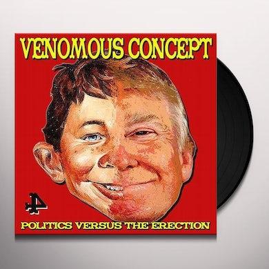 Politics Versus The Erection (Ltd. Yello Vinyl Record