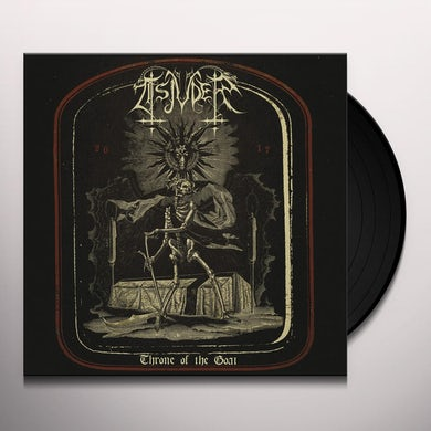 Tsjuder THRONE OF THE GOAT 1997-2017 Vinyl Record