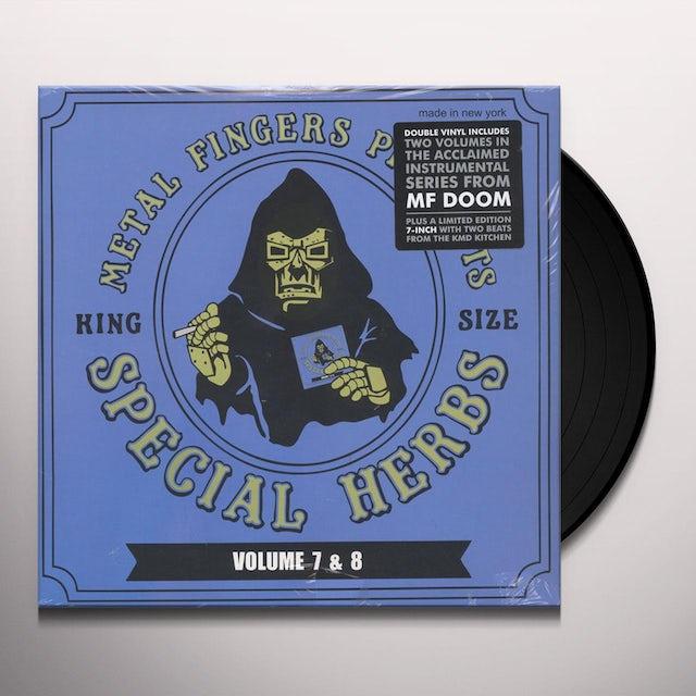 MF DOOM SPECIAL HERBS 7 & 8 Vinyl Record