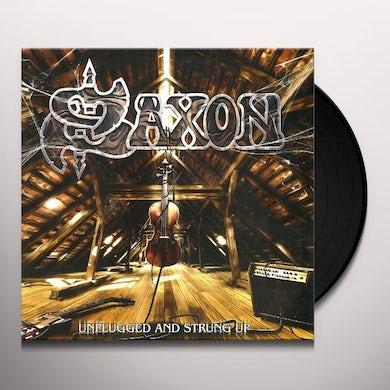 Saxon UNPLUGGED & STRUNG UP Vinyl Record