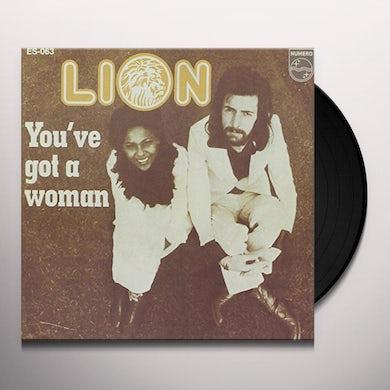 Lion YOU'VE GOT A WOMAN Vinyl Record