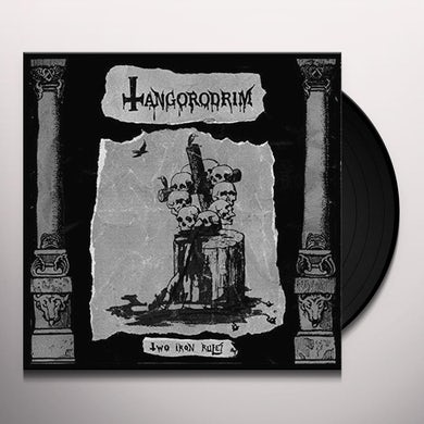 Tangorodrim TWO IRON RULES Vinyl Record