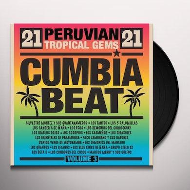 Cumbia Beat Volume 3: 21 Peruvian Gems / Various Vinyl Record