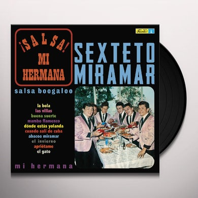 Sexteto Miramar SALSA MI HERMANA Vinyl Record