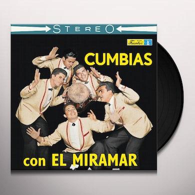 Conjunto Miramar CUMBIAS CON EL MIRAMAR Vinyl Record