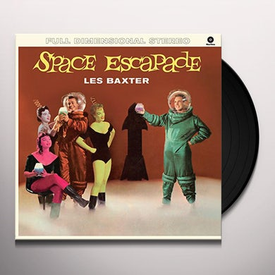 Les Baxter SPACE ESCAPADE Vinyl Record