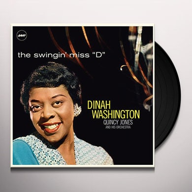 SWINGIN MISS D (WITH QUINCY JONES & HIS ORCHESTRA) Vinyl Record