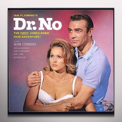 Monty Norman DR. NO / Original Soundtrack Vinyl Record - Colored Vinyl, Limited Edition, 180 Gram Pressing, Red Vinyl, Remastered