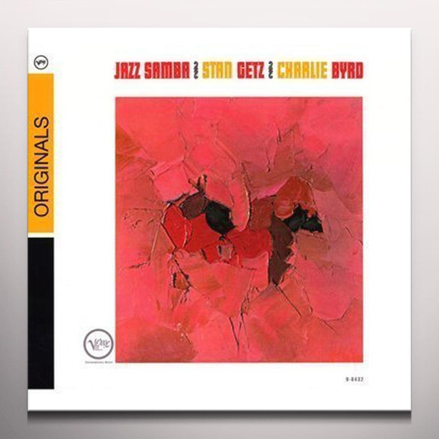 Stan Getz / Charlie Byrd JAZZ SAMBA  (BONUS TRACK) Vinyl Record - Blue Vinyl, Colored Vinyl, Limited Edition, 180 Gram Pressing