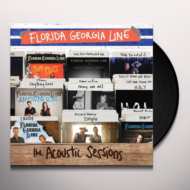 Florida Georgia Line ACOUSTIC SESSIONS Vinyl Record