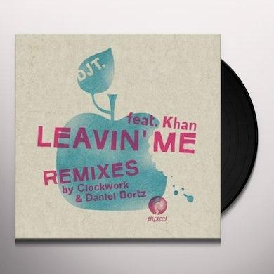 DJ T-Rock & Squashy Nice LEAVIN ME Vinyl Record