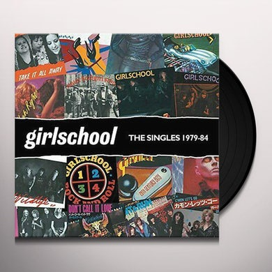 Girlschool SINGLES 1979-1984 Vinyl Record