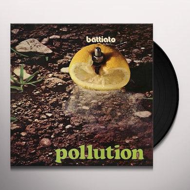 Franco Battiato POLLUTION Vinyl Record
