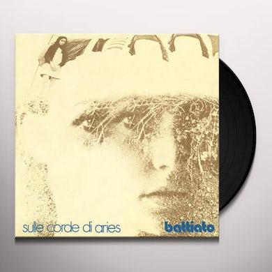 Franco Battiato SULLE CORDE DI ARIES Vinyl Record