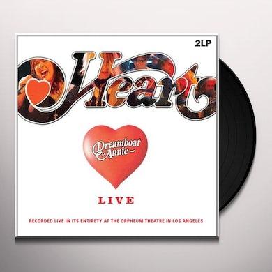Heart DREAMBOAT ANNIE-LIVE Vinyl Record